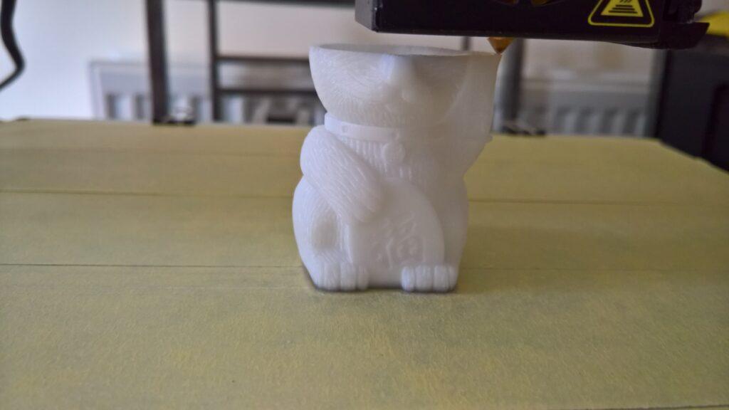 3D printing cat